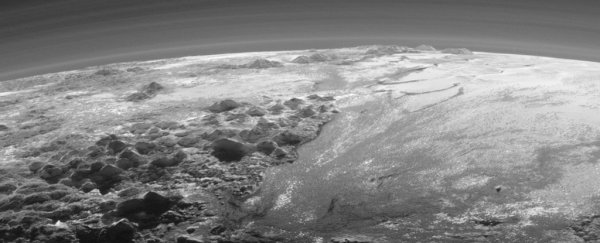 Geography on Pluto is surprisingly similar to Earth, NASA reveals