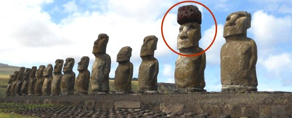 The mystery of how easter island statues got their colossal hats