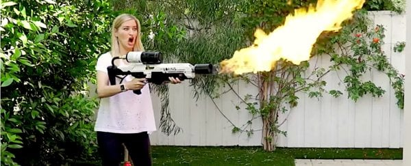 Elon Musk's flamethrowers are here, and people are already doing crazy stuff with them
