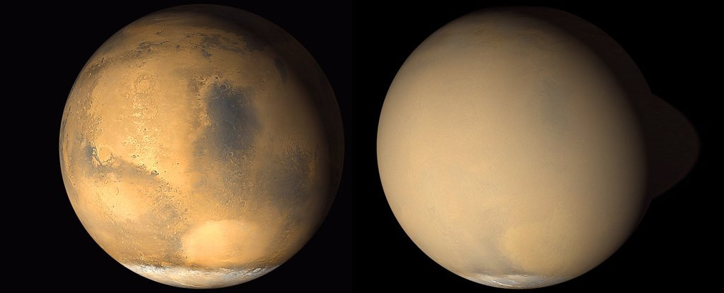 NASA Is About to Deliver Major News on That Dust Storm Raging on Mars