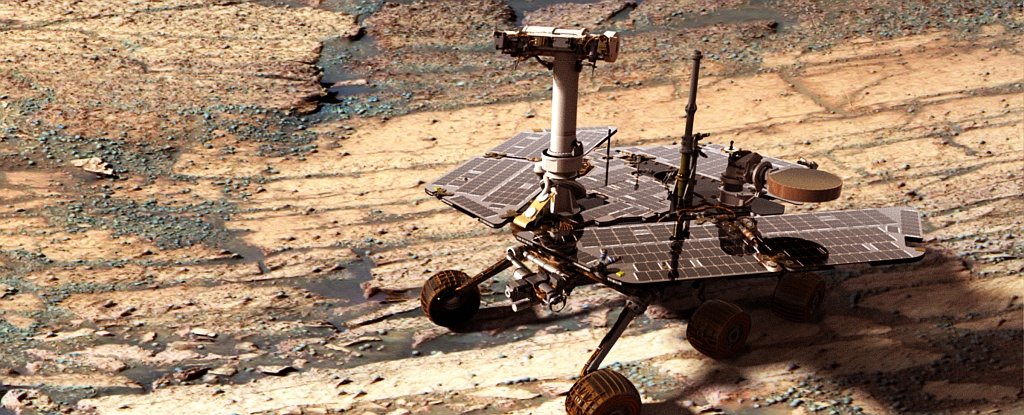 Right Now Nasa S Opportunity Is Battling A Potentially