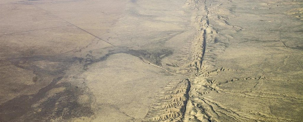 San Andreas Fault From Space 'Slow Earth...