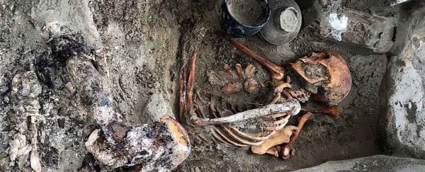 A 2000-year-old mummified 'sleeping beauty' has been found buried with a mirror