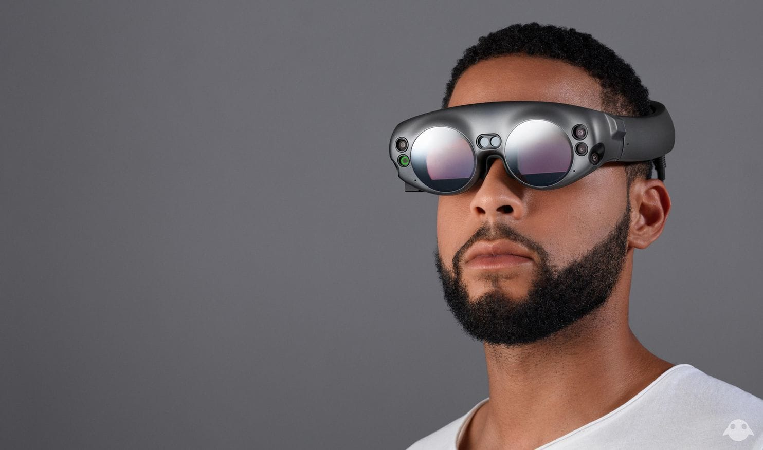 The Magic Leap One headgear is due to ship to developers later this year. (Courtesy of Magic Leap)