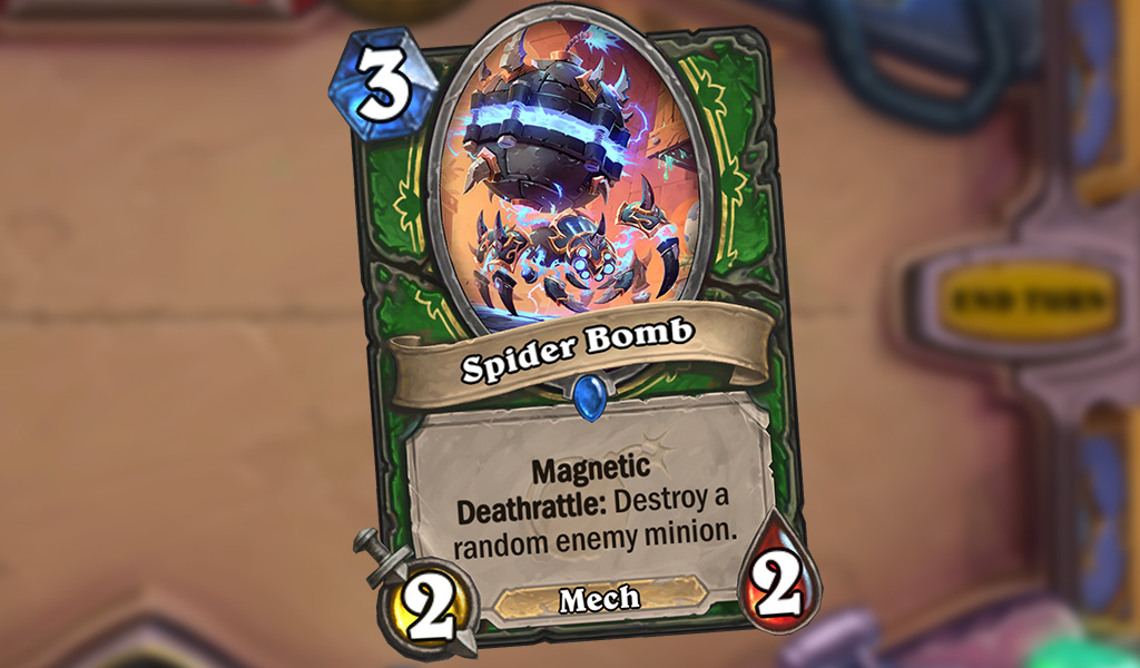 SpiderBomb card