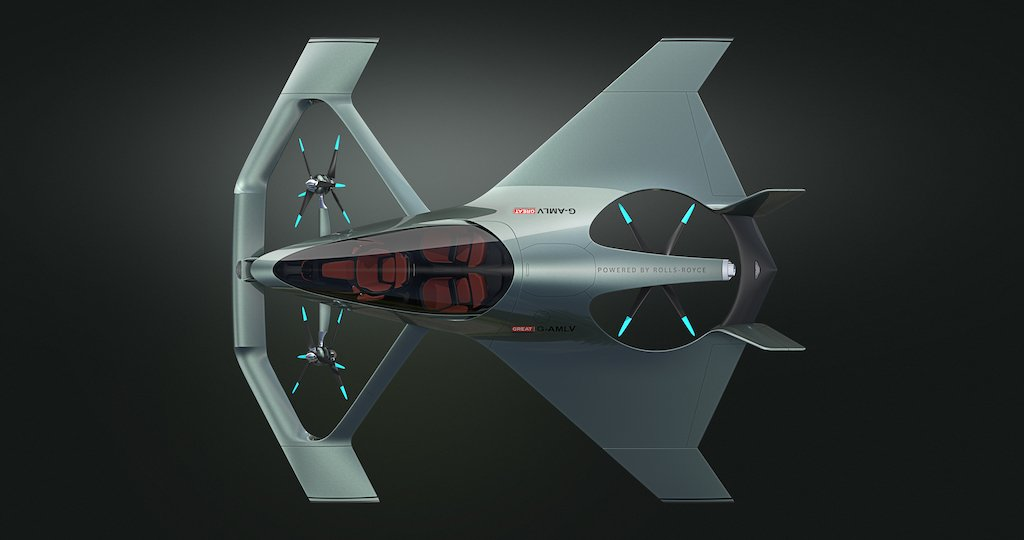 Aston Martin S Autonomous Flying Car Concept Is Sleek And Sexy
