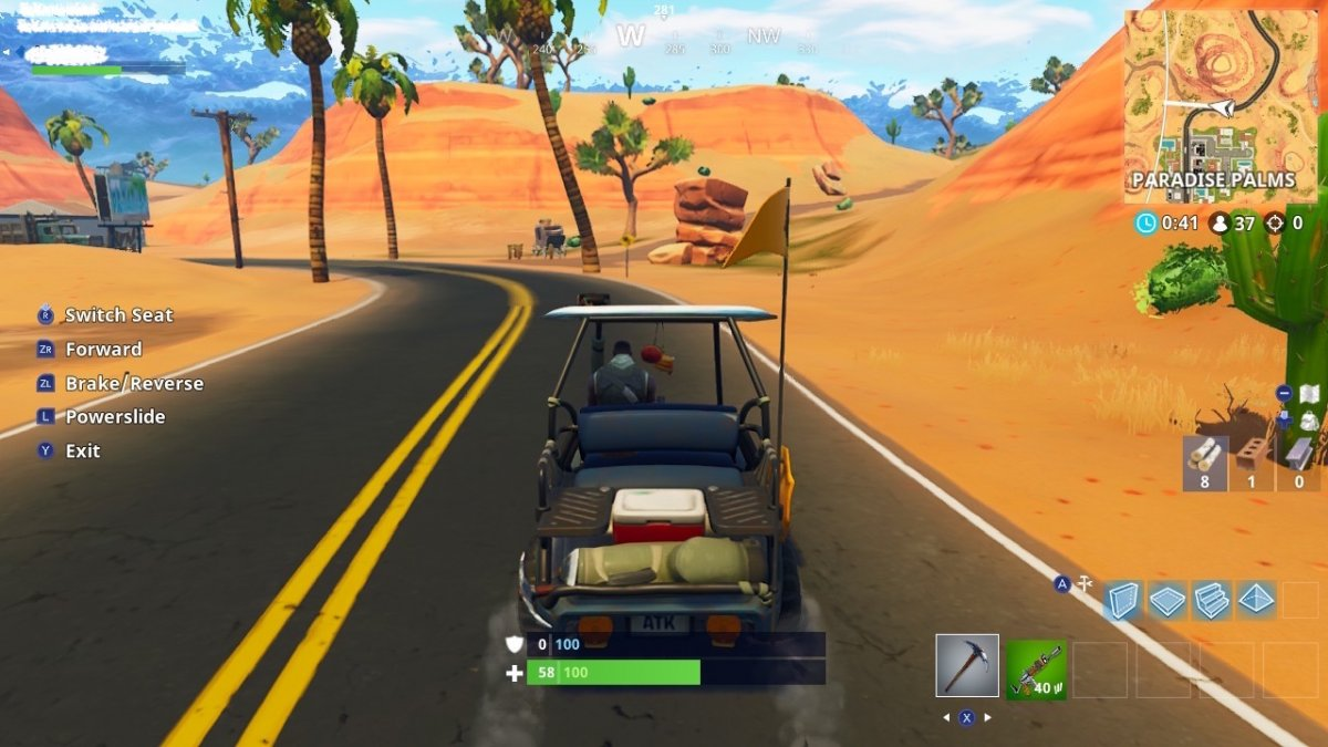 One Person Golf Cart >> Fortnite Season 5 Is Live! Here's The Most Epic Changes