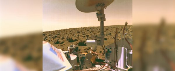 NASA may have accidentally obliterated organic molecules on Mars in the '70s