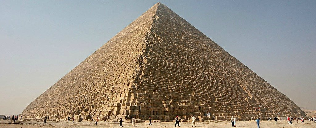 The Great Pyramid of Giza Might Focus Electromagnetic Energy in Its Chambers