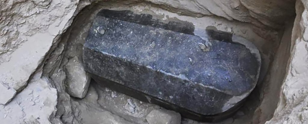 A Massive, Black Sarcophagus Has Been Unearthed in Egypt, And Nobody Knows Who's Inside