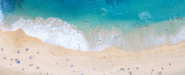 White tropical beaches like Hawaii actually harbour a dirty secret in the sand