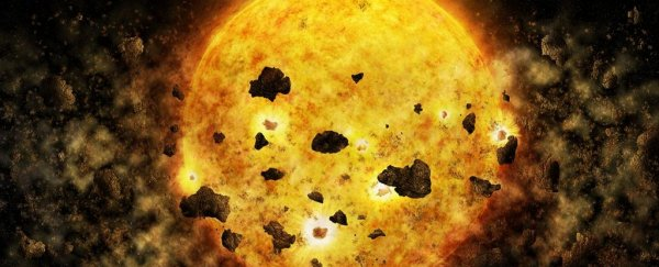 For the first time, scientists might have caught a star devouring a planet