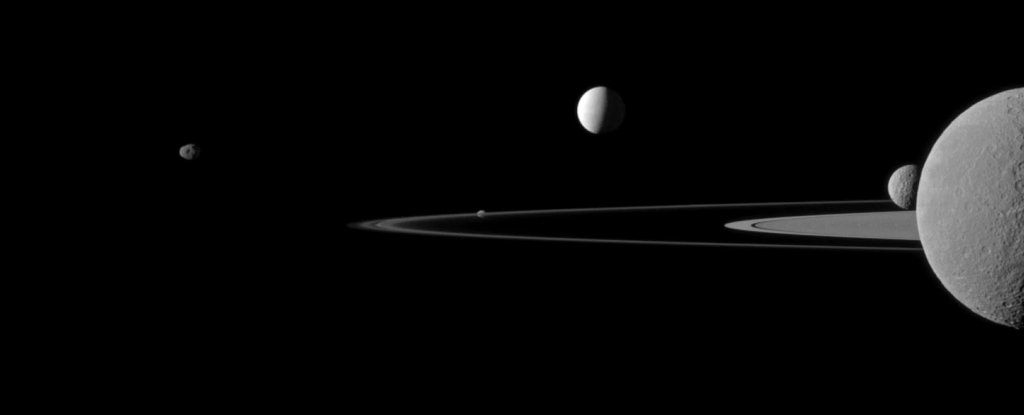 Eerie Space Sounds Are Coming From a Strange Bond Between Enceladus And Saturn