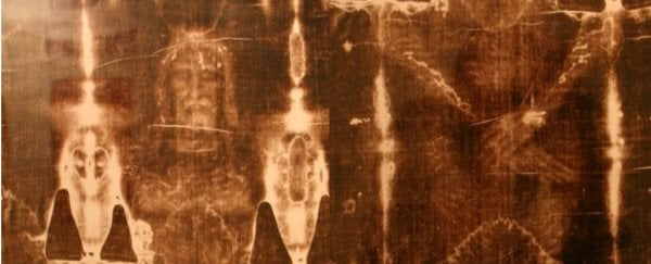 The blood stains on the Shroud of Turin seem totally fake, study claims