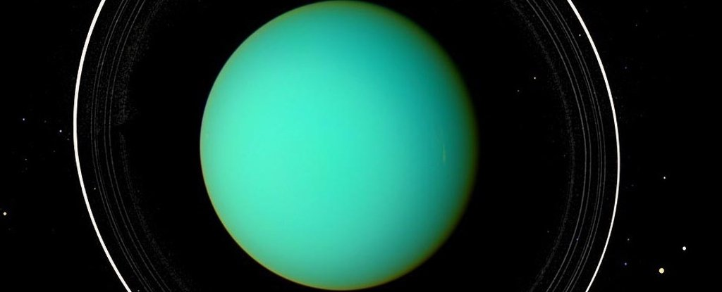 A Rogue Mystery Planet Smacked Into Uranus And Changed It Forever, Study Finds