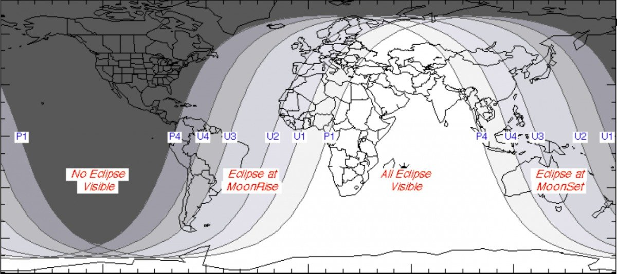 where you can see blood eclipse july 2018