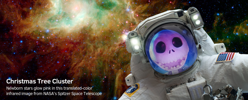 NASA selfies app jack skellington 1024 1024