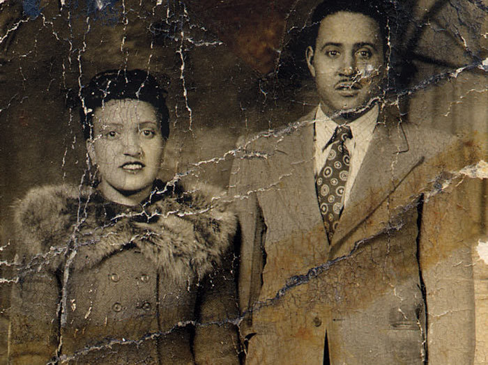 Henrietta Lacks and her husband, David, in 1945 (Courtesy of the Lacks Family)
