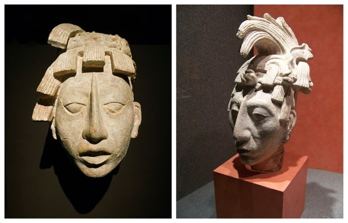 king pakal previous portraits