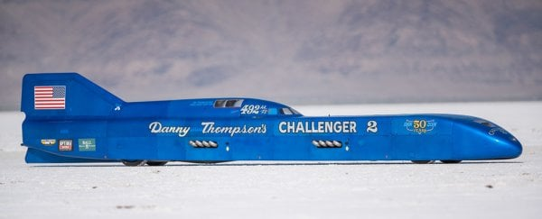 A world land speed record was just smashed with a 50-year-old car