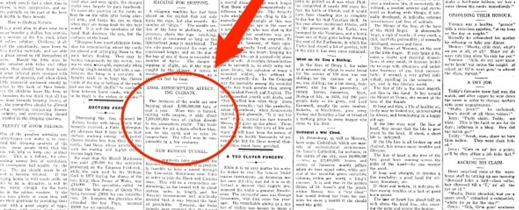 A Newspaper in 1912 Published This Eerily Accurate Prediction About Today's World