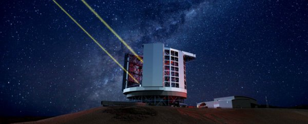 A $1 billion telescope that will take pictures 10 times sharper than Hubble's is now officially under way