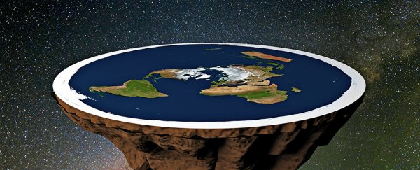 Flat Earthers understand climate change and we're just not sure what to think