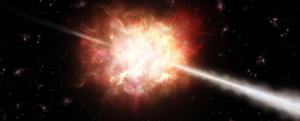 Gamma-Ray Bursts Might Have a Really Weird Time-Reversible Mirroring Effect