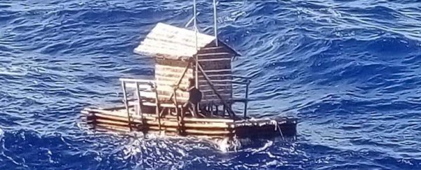This teenager survived almost 50 days adrift at sea in a floating wooden hut