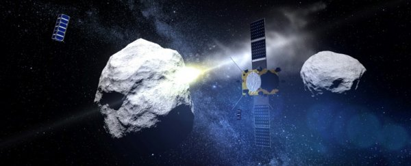 A device for saving Earth from an asteroid smash is about to enter its assembly phase