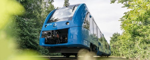 The world's first hydrogen-powered trains are now running in Germany