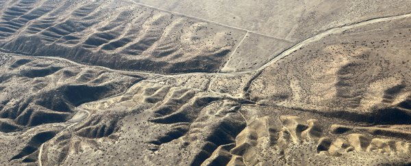 Strange and unexpected movement has been detected along California's biggest fault lines