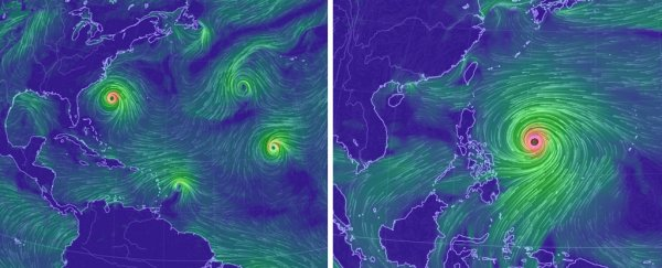 Our oceans have just exploded with tropical storms, with 6 active ones right now