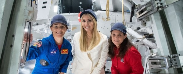 Ivanka Trump admits she always wanted to be an astronaut