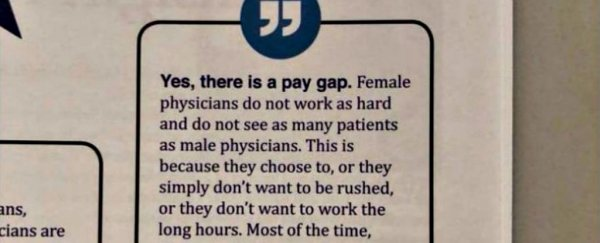Doctor in Texas faces fury for saying female physicians earn less because they 'don't work as hard'