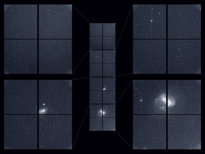 tess first light science obervation inset