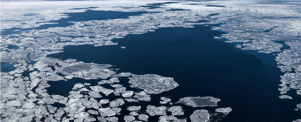 While We Were Busy Debating Climate Science, We Lost More Than Half The Arctic's Permanent Ice
