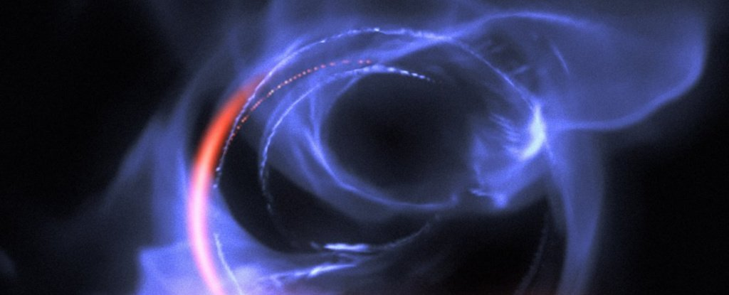 We Just Got The Closest-Ever Look at The Point of No Return For Our Supermassive Black Hole