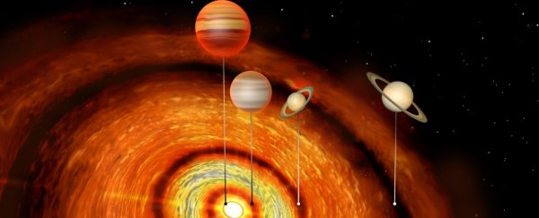 Anomalously Huge Planets Have Been Detected Orbiting a bafflingly young star