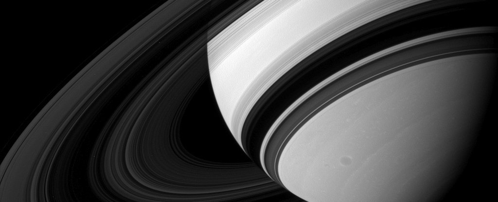 """Saturn's Rings Are Raining a Weird Chemical Cocktail, And Scientists Finally Have a """"Taste"""" of It"""