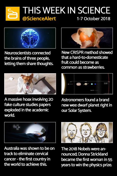 this week in science 1 oct