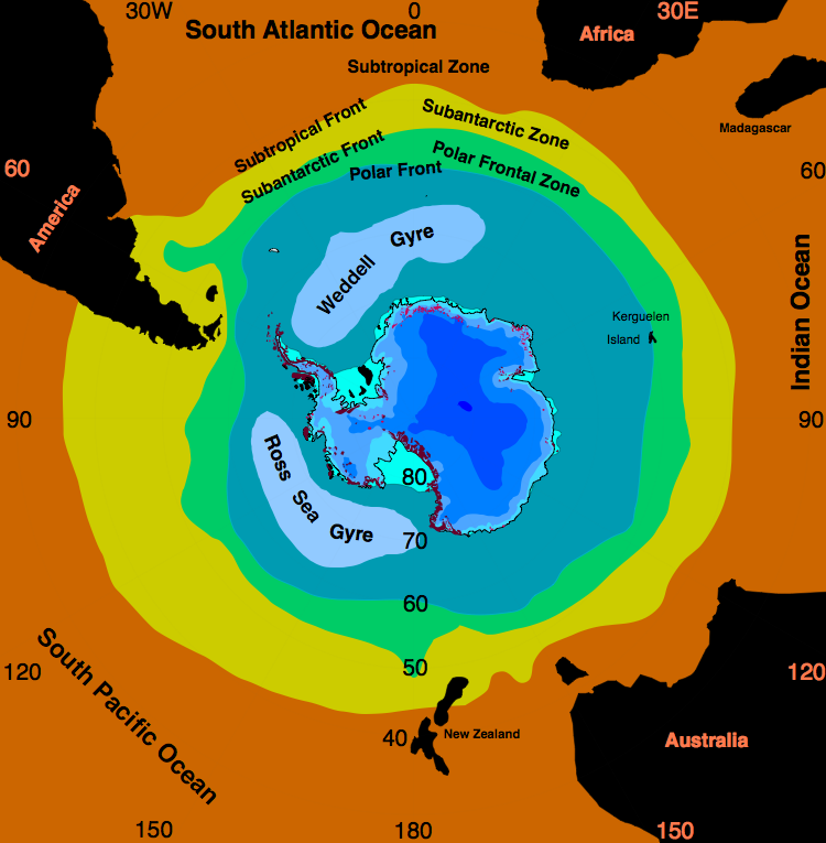 Antarctic frontal system hg