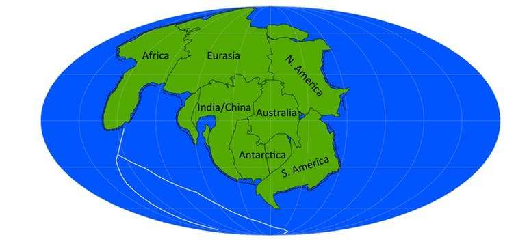 map of all continents together In The Future Earth Will Have Just One Continent It Might Look map of all continents together