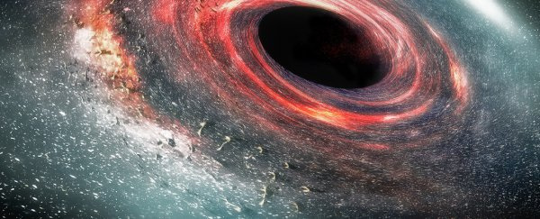 Astronomers found a black hole rotating so fast, it could be spinning space itself