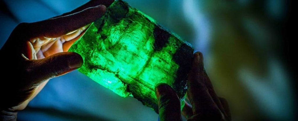 Look at This Absolute Unit of an Emerald Just Found in a Zambian Mine