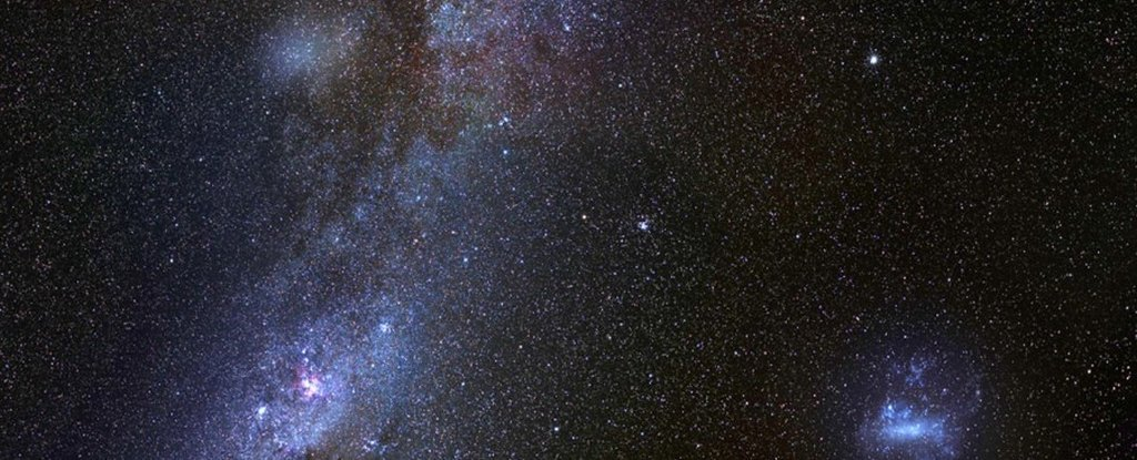 Astronomers Just Detected an Enormous Ancient Galaxy ...