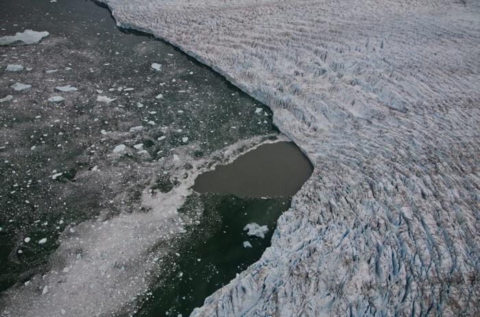 017 strato di ghiaccio della Groenlandia fuso 4