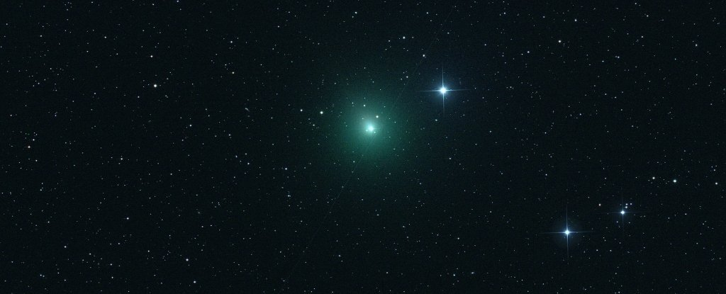 You'd Better Watch Out, The Christmas Comet Is Coming to Town