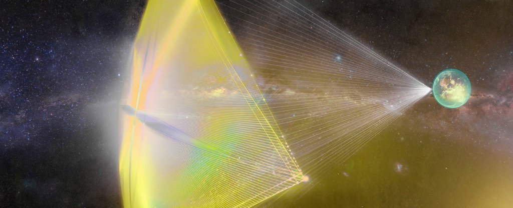 Scientists Are Creating a Laser So Powerful It Could Get a Probe to Mars in Days