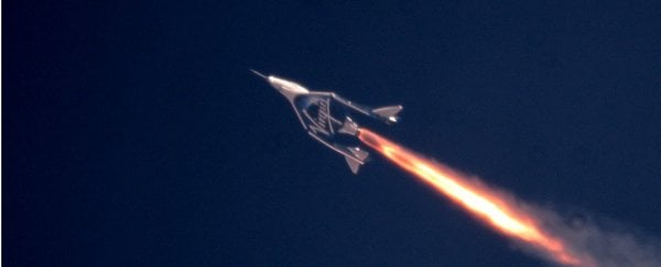 Virgin Galactic just made history by reaching space, with humans on board